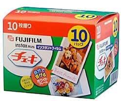 FUJIFILM Instax Mini Cheki Film 10pack(10picture X10)