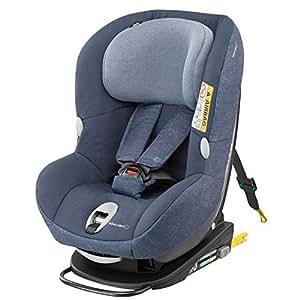 Bébé Confort MiloFix Silla de auto de 0 a 4 años, 0-18 kg, color azul (Nomad Blue)