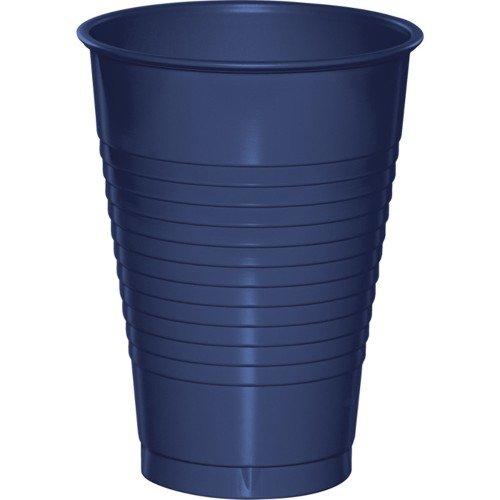 Creative Converting 28113781 Navy Plastic Cups, 16 Oz Solid (12pks Case)