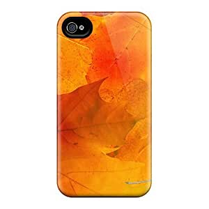 Flexible Tpu Back Case Cover For Iphone 4/4s - Remnants Of Summer