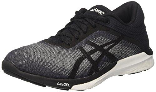 Asics Fuzex Rush, Chaussures de Running Femme Multicolore (Midgrey/black/white)