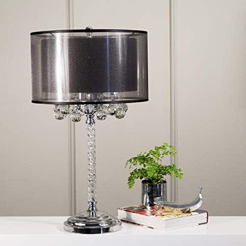"""OK Lighting OK-5150T 30.00""""H Effleurer Table Lamp"""