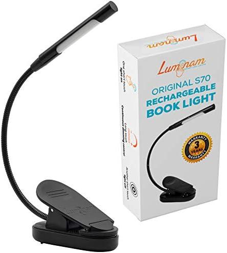 Luminam Rechargeable Dimmable Flexible Gooseneck