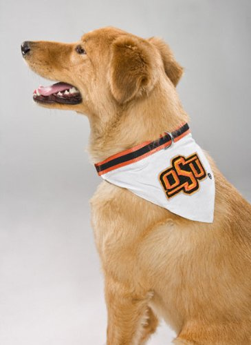 Mirage Pet Products Oklahoma State Cowboys Bandana for Dogs and Cats Large