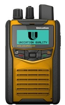 Unication G1 Voice Pager Firefighter Pager