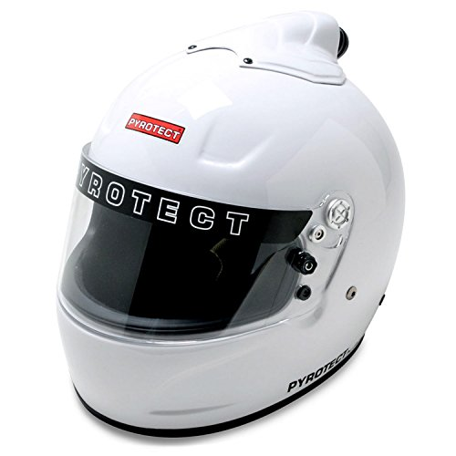 Pyrotect 6060995 XS White Pro Airflow Top Forced Air Full Face - SA2010 ...