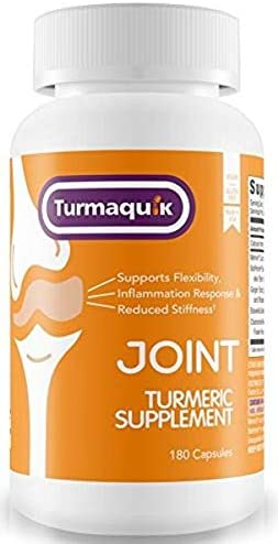 550mg Meriva Curcumin Turmeric Supplement 180 Capsules 5 Boosters BioPerine Black Pepper, Boswellia, Ginger, Chamomile Calcium