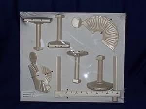 Bucilla Plaid Doodle Loom Tool Pom-Pom Maker