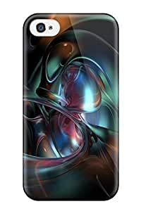 For Iphone 4/4s Fashion Design Cgi Abstract Cgi Case-xsWqOSn6202lAElU