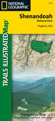National Geographic Trails Illustrated Shenandoah National Park: Virginia USA (Trails Illustrated - Topo Maps USA) ()