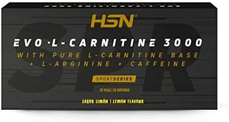 EVO L-CARNITINE 3000 LIMÓN - 20 viales: Amazon.es: Salud y cuidado ...