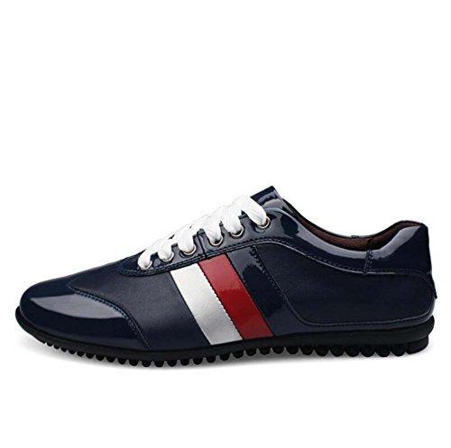 Zapatos Grandes la Zapatos Nuevo Hombres Zapatos Color la Ocasionales 39 los Salvajes de Verano Azul de Primavera Moda y Tamaño Tabla de F4w74Iqvx