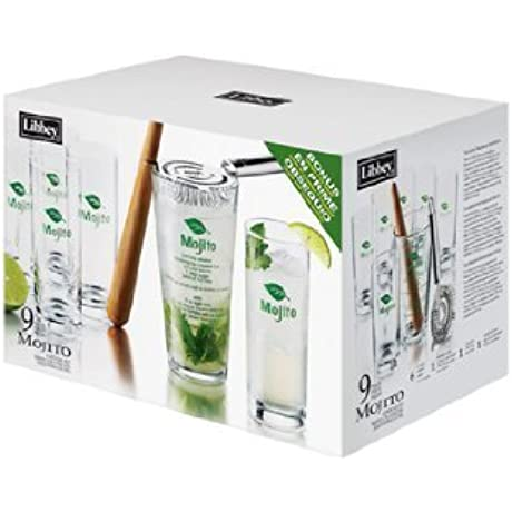 Libbey Glass Inc Lib 80926 Mojito Glass 2 9Pc Set LIB 80926