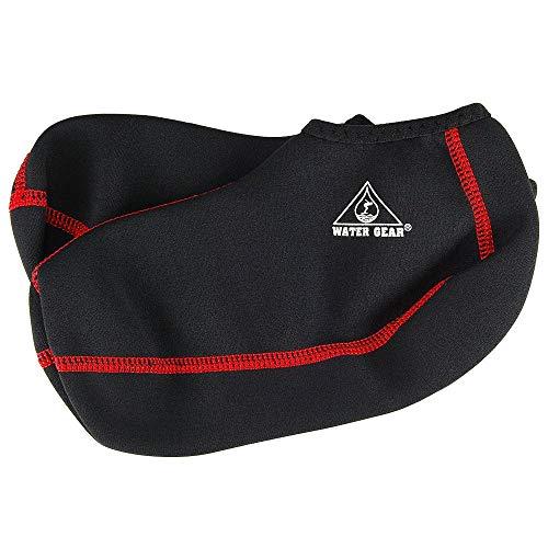- Water Gear Fin Socks, Medium (Red Stitching)