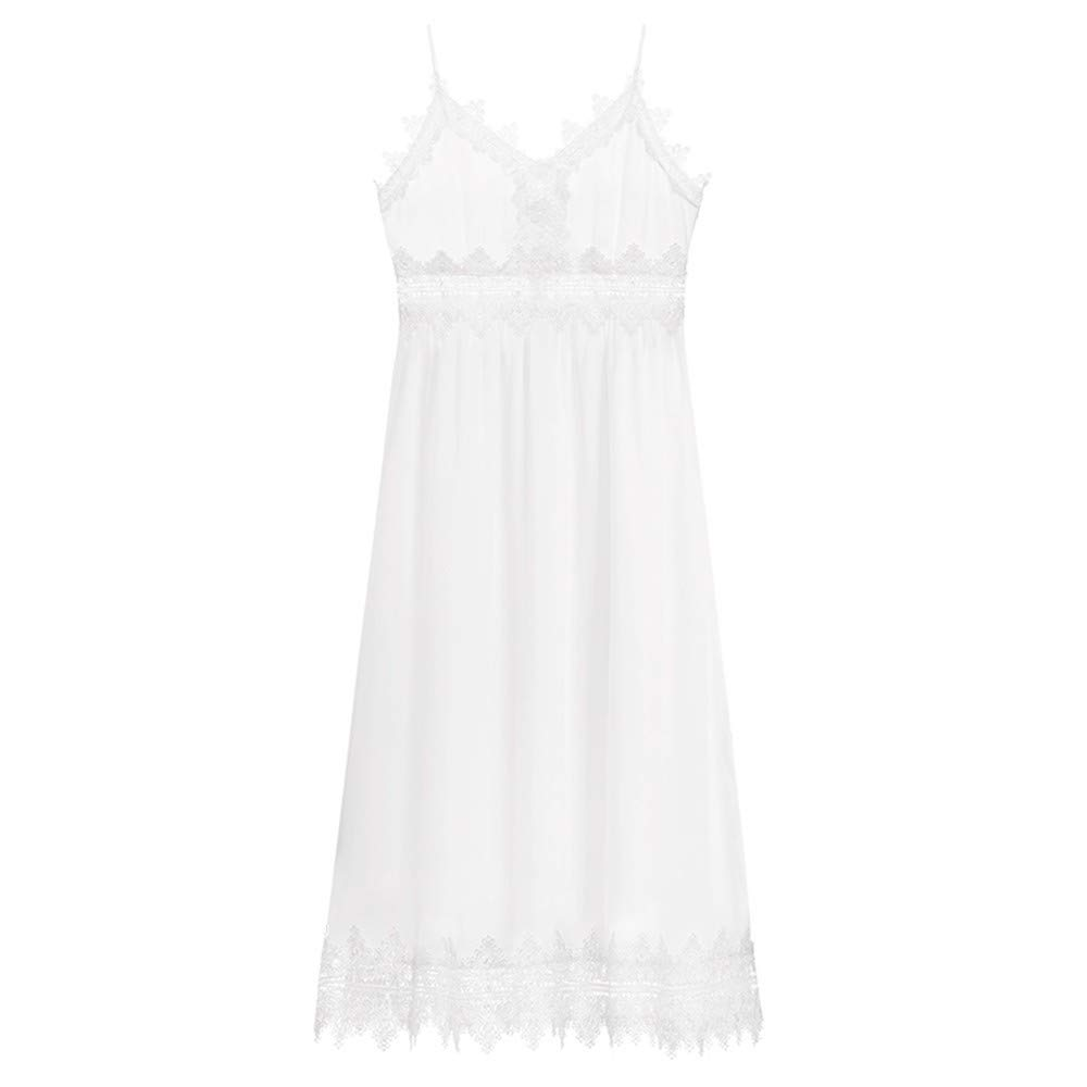 White MSNZS Dresses Lace Beach Dress Gentle