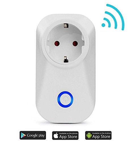 Price comparison product image WZG Smart Plug Wifi Smart Socket, Remote Control No Hub Required,  Home Automation Support IFTTT, Europeanregulation