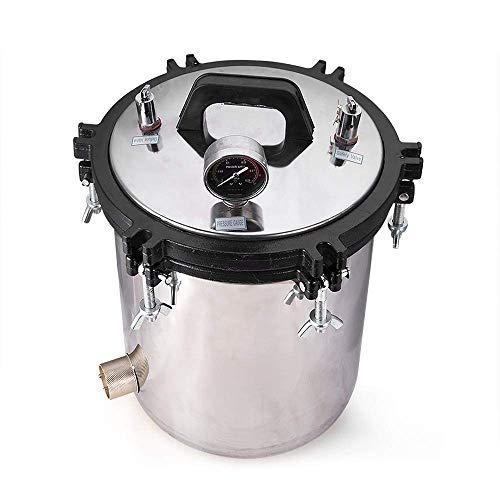 6.4Gal 24L Autoclaves Sterilizer Electric Heated Autoclave Steam Sterilizer