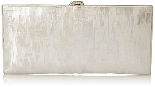 Lodis Shasta Lake Andra Clutch, Silver, One Size