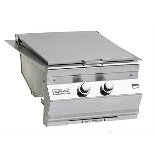 Fire Magic Aurora Built-in Natural Gas Double Searing Station / Side Burner - 3288l-1