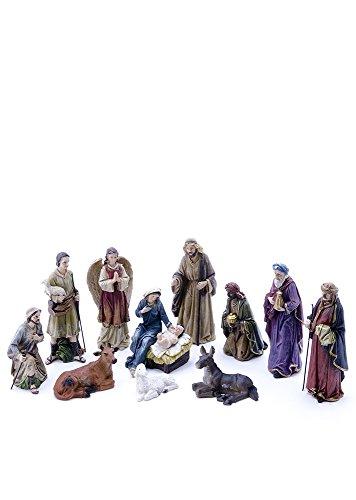 All Line 81891 4-Piece Christmas Nativity Scene Decor