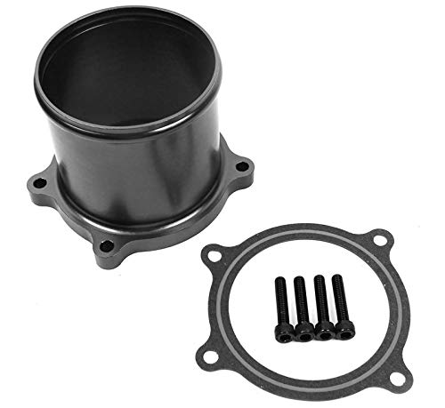 Throttle Valve Delete Kit for 07-17 Dodge Ram 6.7L L6 Cummins Diesel Turbo (Best Egr Delete Kit For 6.7 Cummins)