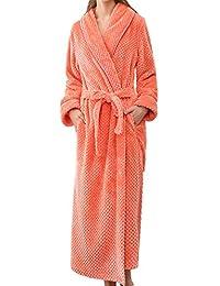 Men s Winter Nightwear Lengthened Bathrobe Home Clothes Shawl Long Sleeved  Robe df60010ca