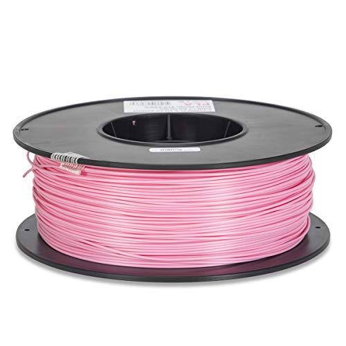 Inland 1.75mm Pink PLA 3D Printer Filament - 1kg Spool (2.2 lbs)