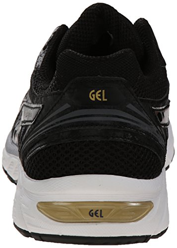 Asics Hombres Gel-equation 8 Running Shoe Black / Gold / Castlerock