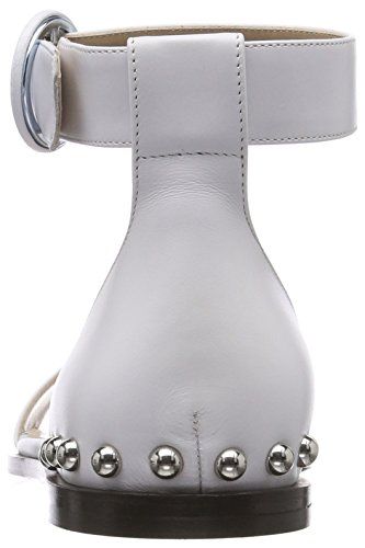 Pulsera 100 s Para Hugo Flat white Uptown Blanco Con Mujer Sandalia Sandal wwYPqtB