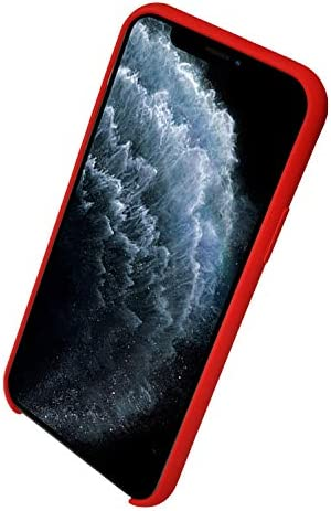 ComfortHurry iPhone Case with Airpod Holder on The Back- Compatible with iPhone 11 Pro, iPhone 11, iPhone 8, iPhone SE, Airpods Pro and AirPods (Red, iPhone SE-8/Airpods)