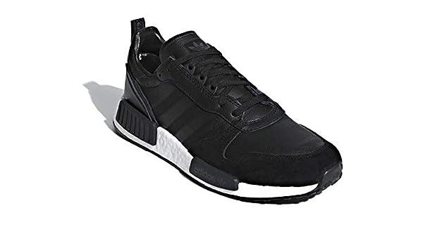 New Men/'s Adidas BOSTON SUPER x R1 NMD Triple Black Yeezy Run Size 6 EE3655