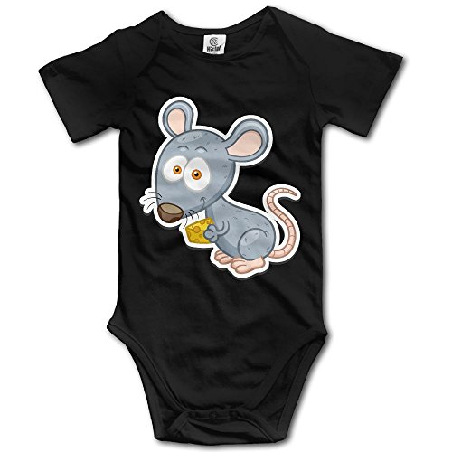 V5DGFJH.B Toddler Climbing Bodysuit Rat Eat Sandwich Infant Climbing Short-Sleeve Onesie Jumpsuit (Rat Costume For Baby)
