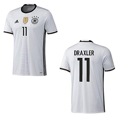 adidas DFB DEUTSCHLAND Trikot Home Kinder EURO 2016 - DRAXLER 11, Größe:152
