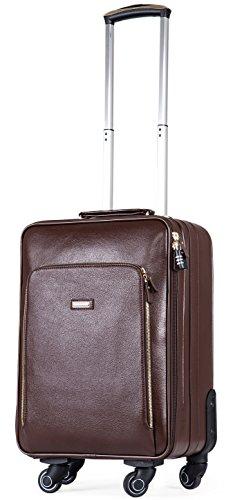 Leather Suitcase: Amazon.com