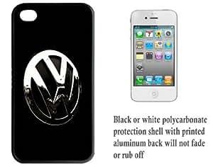iPhone 4 4S Printed Hard Case With Aluminium Insert Volkswagen