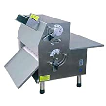 """Somerset Industries CDR-2100S Pizza Dough Roller and Sheeter - Tabletop 20""""W Roller, Side Operated"""