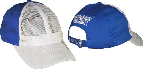 Jimmie Johnson #48 Diva Adjustable Mesh Front Ladies Hat - Blue (One Size) ()