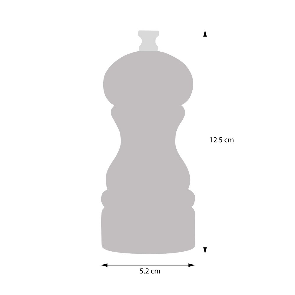 Set de moulins /à sel ou poivre acrylique 12,5 cm 2 pi/èces ProCook