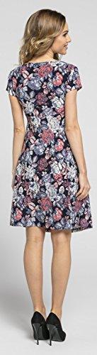 Maniche Donna a Style Abito Clark 547 dell'impero Svasato Chelsea V corte Vita Scollo 4 wBR1xWq