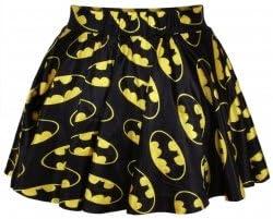 De mujer New negro diseño de impresión tutú Batman falda la ropa ...