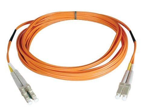 New - 2M DUPLX MMF CABLE LC/LC 50/125 FIBER - N520-02M