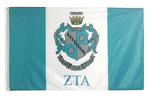 Zeta Tau Alpha Official 3' X 5' Flag