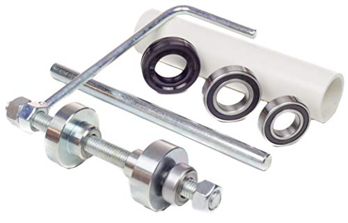 Kit King USA Whirlpool Tub Bearing Pusher Install Tool with Seal and Bearings, Bravos XL, AP5325033, W10447783, W10435302 Washing Machine Appliance Parts by Kit King USA