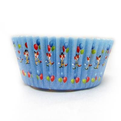 1 1/2 x 3 x 2 Clown Baking Cups - Case of 1728