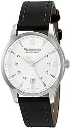 Victorinox Unisex 249034 Alliance Analog Display Swiss Quartz Black Watch
