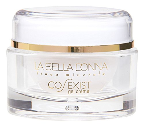 La Bella Donna CO-EXIST Anti-Aging Face Gel Creme (2 OZ.) - Aqueous Extract of Green Tea, Sodium Hyaluronate, Pentapetide-3, Retinol. Day and Night Moisturizing Gel Cream ()