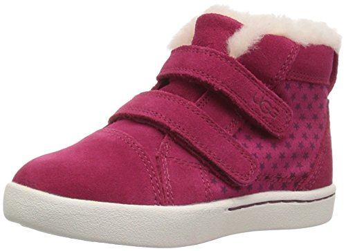 UGG Kids T Rennon Stars Sneaker,Brambleberry,10 M US Toddler (Collar Star Dual)