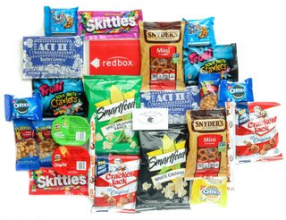 Ultimate Package Delicious Snacks Redbox