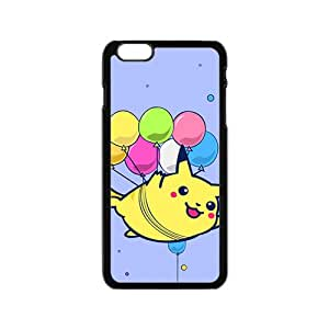 Lovely Pokemon happy Pikachu Cell Phone Case for Iphone 6