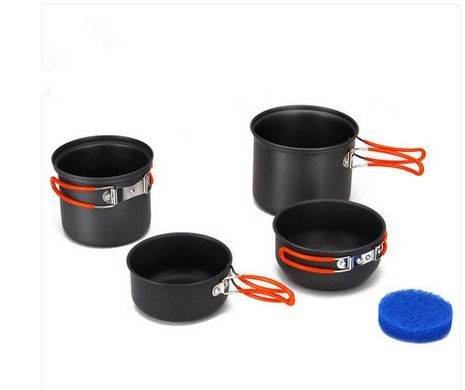 Fire-maple Fire Maple FMC-208 Outdoor Camping Cooking Picnic Pot Cookware Set Backpack Cookware Set by Fire-Maple